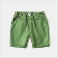 กางเกงเด็กขาสั้น-WAPYPY-สีเขียว