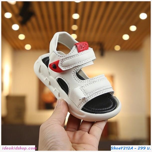 รองเท้ารัดส้น Fashion Sport สีขาว
