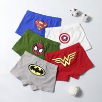 กางเกงในเด็ก-Box-set-Logo-Super-Hero(เซต-5-ตัว)