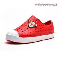 รองเท้าแฟชั่นเด็กสไตล์-Native-สีแดง