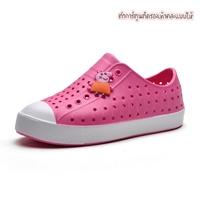 รองเท้าแฟชั่นเด็กสไตล์-Native-สีชมพู