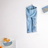 กางเกงเลกกิ้งเด็ก-Frozen-Elsa-สีฟ้า