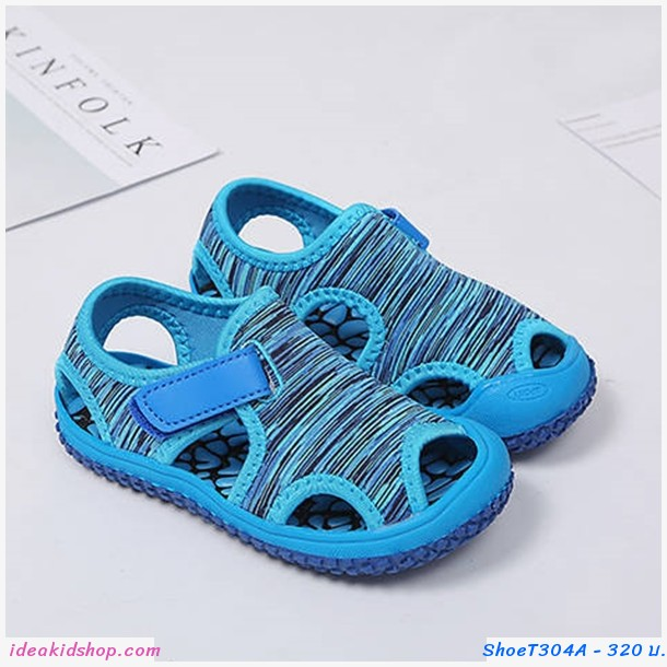 รองเท้ารัดส้น Beach Shoes สีฟ้า
