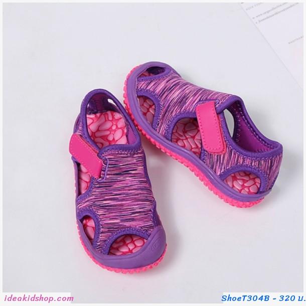 รองเท้ารัดส้น Beach Shoes สีม่วง