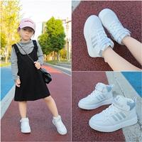 รองเท้าผ้าแฟชั่นสไตล์-Adidas-ขาวเทา