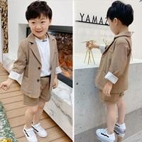 สูทลำลอง-สไตล์เกาหลี--เสื้อสูท-พร้อมกางเกงขาสั้น