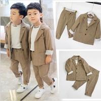 สูทลำลอง-สไตล์เกาหลี--เสื้อสูท-พร้อมกางเกงขายาว