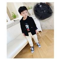 สูทลำลอง-Korean-Kid-สีดำ