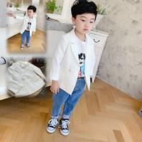 สูทลำลอง-Korean-Kid-สีขาว