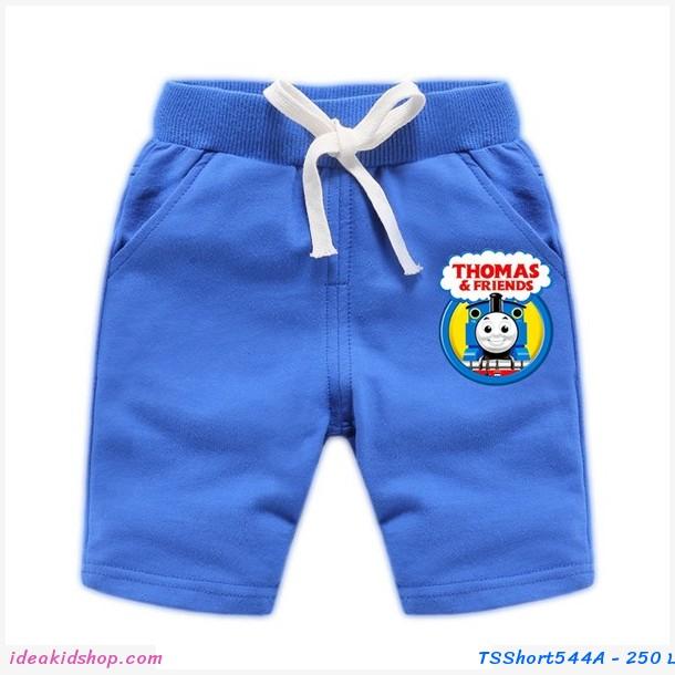 กางเกงเด็กขาสั้น Thomas and Friends สีน้ำเงิน