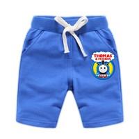 กางเกงเด็กขาสั้น-Thomas-and-Friends-สีน้ำเงิน