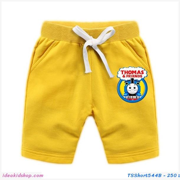 กางเกงเด็กขาสั้น Thomas and Friends สีเหลือง