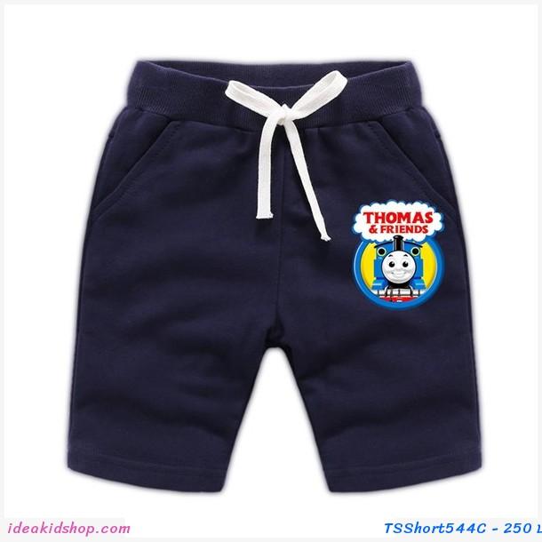 กางเกงเด็กขาสั้น Thomas and Friends สีกรม