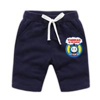 กางเกงเด็กขาสั้น-Thomas-and-Friends-สีกรม