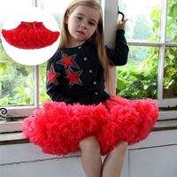 กระโปรงเด็ก-Tutu-แซนตี้-ติดโบว์-สีแดง