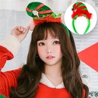 ที่คาดผม-Xmas-ลายหมวกคริสต์มาส