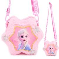 กระเป๋าสะพาย-Frozen-Elsa-สีชมพู