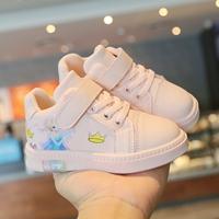 รองเท้าผ้าใบแฟชั่นเด็ก-Frozen-Elsa-สีชมพู