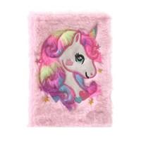 สมุด-Notebook-ลาย-unicorn-สีชมพู