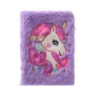 สมุด-Notebook-ลาย-unicorn-สีม่วง