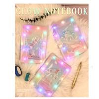 สมุด-Notebook-lights-cute-มีไฟ-คละลาย