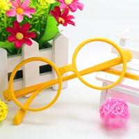 กรอบแว่นตาเด็กเนิร์ด-สีเหลือง
