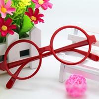 กรอบแว่นตาเด็กเนิร์ด-สีแดง