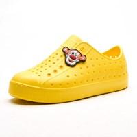 รองเท้าแฟชั่นเด็กสไตล์-Native-สีเหลืองเหลือง