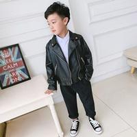 เสื้อแจ็คแก็ตหนังซิปสุดเท่-ร็อคเล็กเล็ก-สีดำ