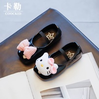 รองเท้าคัทชูหนังแก้ว-Kitty-สีดำ