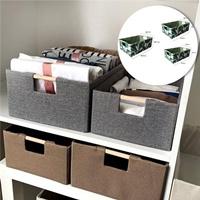 กล่องเก็บของอเนกประสงค์-สีเขียวใบไม้(ได้3ชิ้น)-