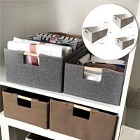 กล่องเก็บของอเนกประสงค์-สีครีม(ได้3ชิ้น)-