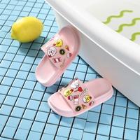 รองเท้าแตะแฟชั่นกุ๊กไก่-สีชมพู