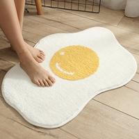 พรมเช็ดเท้า-Microfiber-ลายไข่ดาว