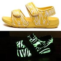 รองเท้ารัดส้น-soft-beach-เรืองแสง-สีเหลือง-