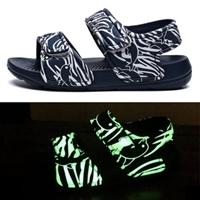 รองเท้ารัดส้น-soft-beach-เรืองแสง-สีดำ