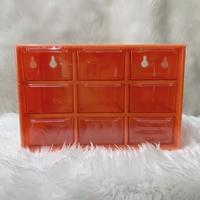 กล่องลิ้นชักเก็บของอเนกประสงค์-9-ช่อง-สีซอสพริก