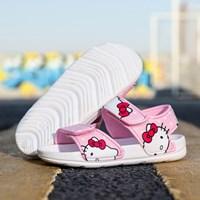 รองเท้ารัดส้น-soft-beach-ลาย-Kitty-สีชมพูอ่อน-H