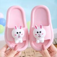 รองเท้าแตะ-Children-slippers-แก๊งค์ไลน์-ลาย-Cony