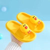 รองเท้าแตะ-Children-slippers-แก๊งค์ไลน์-ลาย-Sally