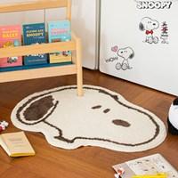 พรมเช็ดเท้า-พรมตกแต่งห้อง-Snoopy-mini-Carpet