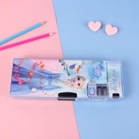 กล่องดินสอ-2-ด้าน-ลาย-Frozen-สีฟ้าเข้ม