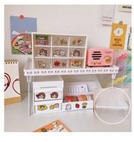 ชั้นวางของพับได้-Stationery-storage-Shelf