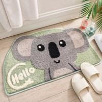 พรมเช็ดเท้า-non-slip-พรมตกแต่งในบ้าน-ลายหมีโคอาล่า