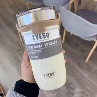 แก้วเก็บอุณหภูมิร้อนเย็น-TYESO-710-ml.-สีขาว