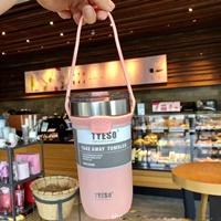 แก้วเก็บอุณหภูมิร้อนเย็น-TYESO-710-ml.-สีชมพู