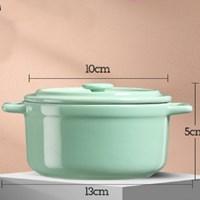 ถ้วยทำไข่ตุ๋นเซรามิกญี่ปุ่น-สีเขียว-250ml.แบบ-G