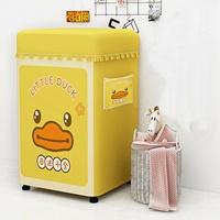 ผ้าคลุมเครื่องซักผ้าฝาบน-9-12-kg-ลายเป็ด-b-Duck
