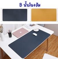 แผ่นรองเมาส์-รองโต๊ะ-Double-sided--Desk-pad-PU-แบบ-B