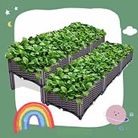 กระบะปลูกผัก-Balcony-vegetable-box(3-ช่อง-2-แถวเล่นระดับ)